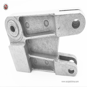 Aluminum die casting support for tile cutter