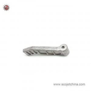 Die casting adjustable handle for tile cutter